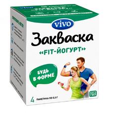 Бактериальная закваска VIVO FIT-Йогурт