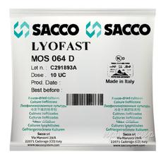Мезофильно-термофильная закваска Sacco MOS 064E(D,B) 10U